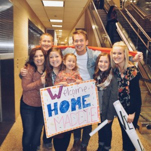 family Maddie home